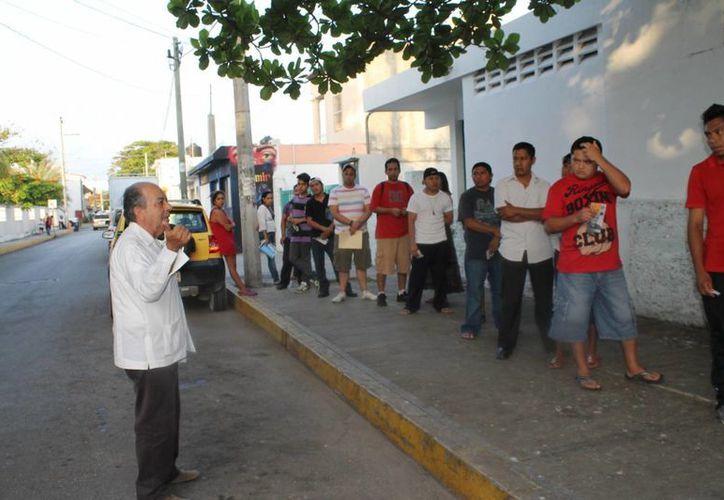 El candidato José Carlos González aseguró que ahora su partido tiene fuerza, gracias a la campaña realizada.