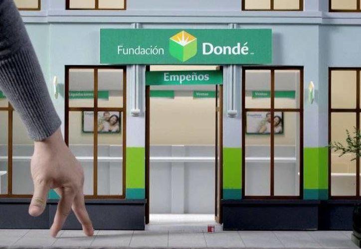 Desde este lunes comenzó a funcionar Fundación Dondé Banco. (vimeopro.com)