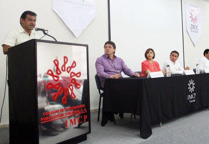El Inaip y el Colegio de Contadores establecen acciones en favor del derecho a la información. (Milenio Novedades)