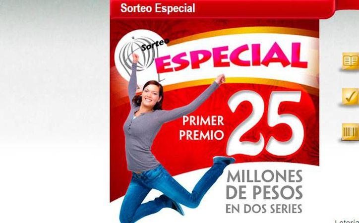 Una mujer compró una serie de boletos de la Lotería, y se ganó 12.5 millones de pesos, en Mérida. (Imagen de contexto)