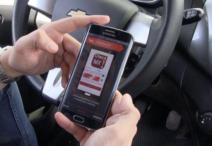 Con la aplicación podrás incluso revisar si un auto tiene reporte de robo. (Foto: Vanguardia)