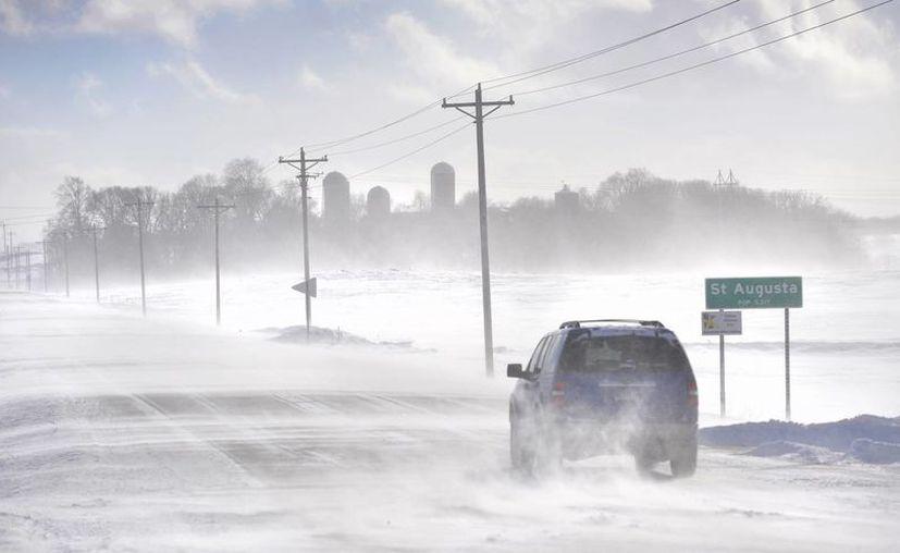 Este lunes y martes la mayor parte del Centro-Norte de Estados Unidos tendrá más frío que la ciudad más septentrional de la nación, en Barrow, Alaska. (Agencias)