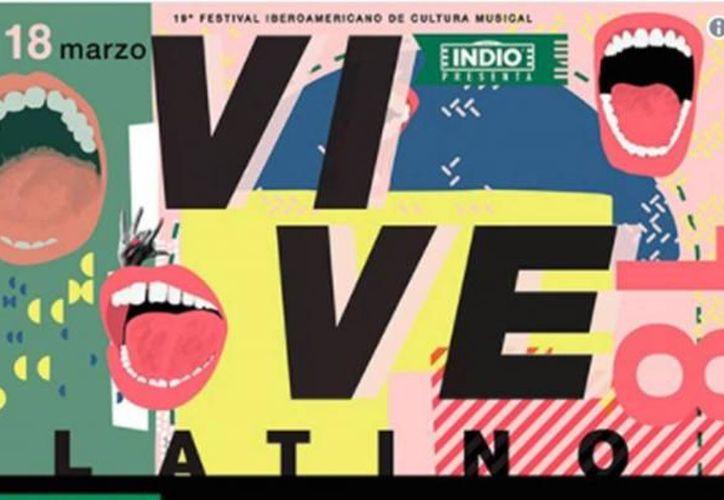 El Vive Latino 2018 se realizará el próximo 17 y 18 de marzo, en el Foro Sol. (Contexto/Internet)