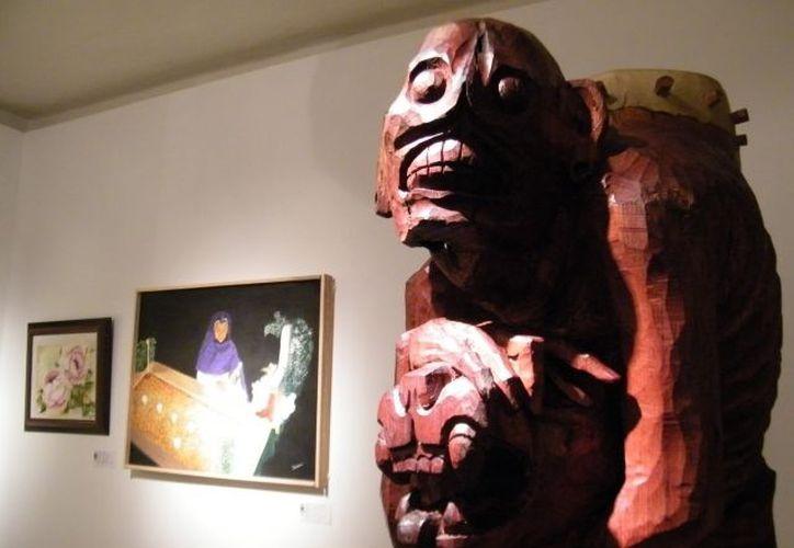 Pintura y escultura en las muestras. (Milenio Novedades)