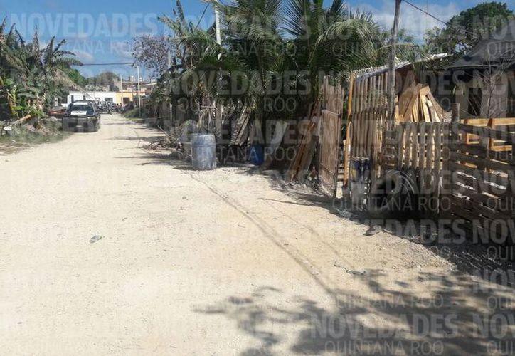 Los hechos violentos se registraron en la colonia Invasión, en Puerto Morelos. (Foto: Redacción)