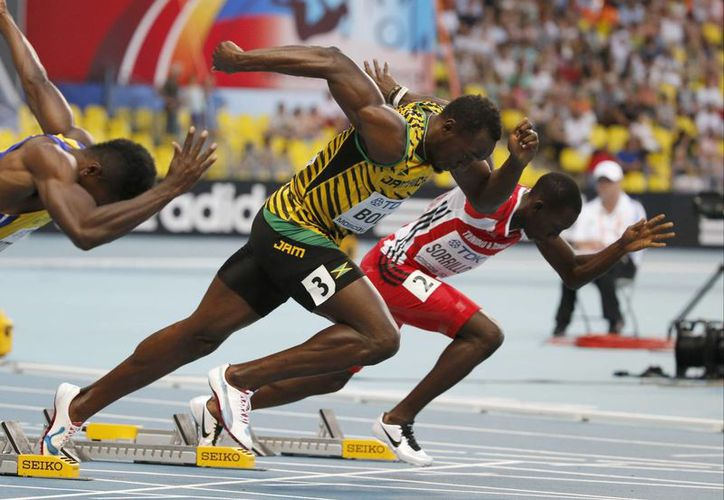 Bolt se colgó este año tres oros en el Mundial de Moscú. (Foto: Archivo/Agencias)