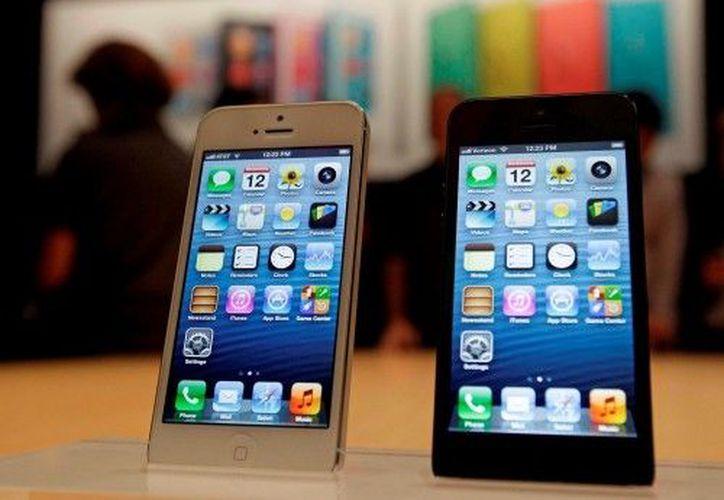 El iPhone 5 fue  lanzado en Estados Unidos en septiembre. (Archivo AP)