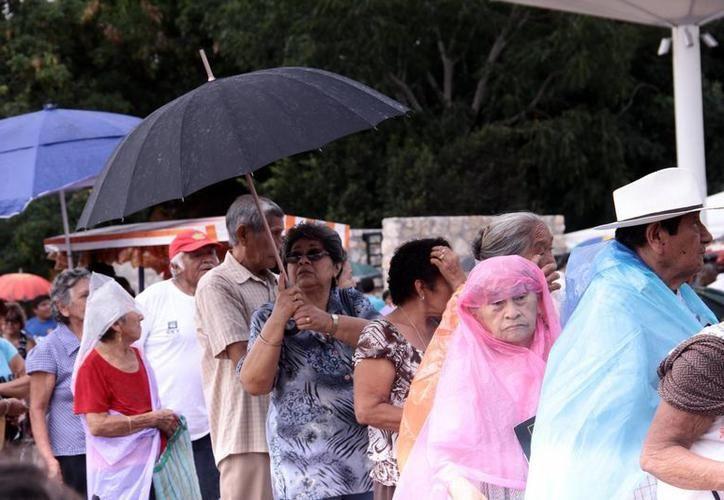 Aunque se pronostica que el clima será caluroso este fin de semana, para la próxima semana podría haber lluvias fuertes. (Foto archivo SIPSE)