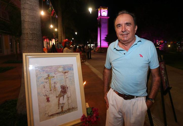 Alfonso Viladiu Ramírez fue uno de los expositores en este evento. (Cortesía/SIPSE)
