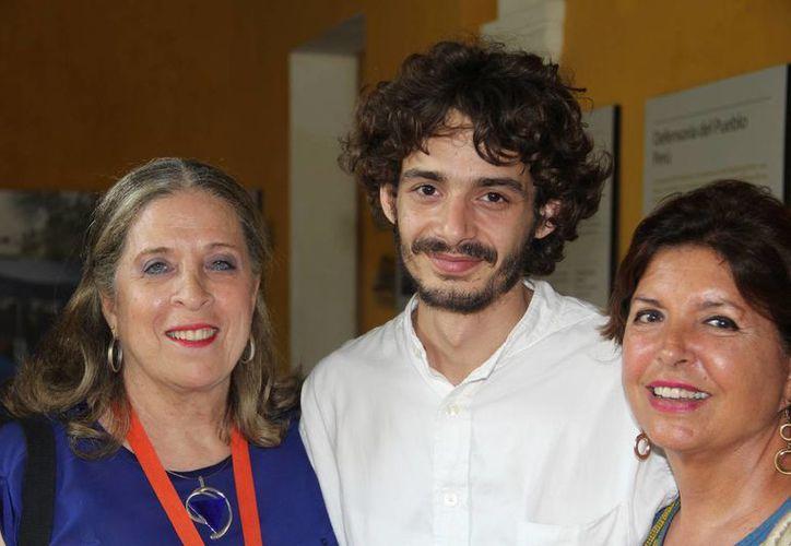 Mateo García, hijo del promogénito de 'Gabo', indicó que a su abuelo le gustaba recomendarle libros. (Notimex)
