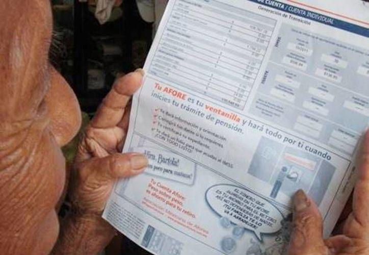 En noviembre pasado, el ahorro voluntario en las cuentas de Afore ascendió a 25 mil millones de pesos. (Archivo/SIPSE)
