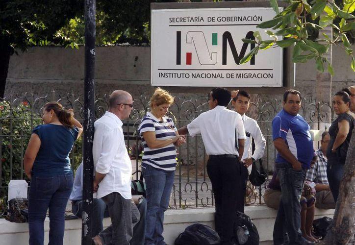 Lo común es que los migrantes retenidos en Yucatán sean centroamericanos, pero en esta año ha habido de Alemania, Ecuador, Eslovaquia, Eslovenia, Italia y Suiza. (SIPSE)