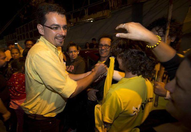 José María Villalta, candidato presidencial por el partido Frente Amplio de izquierda, llegó a encabezar la intención de voto costarricense. (Agencias)