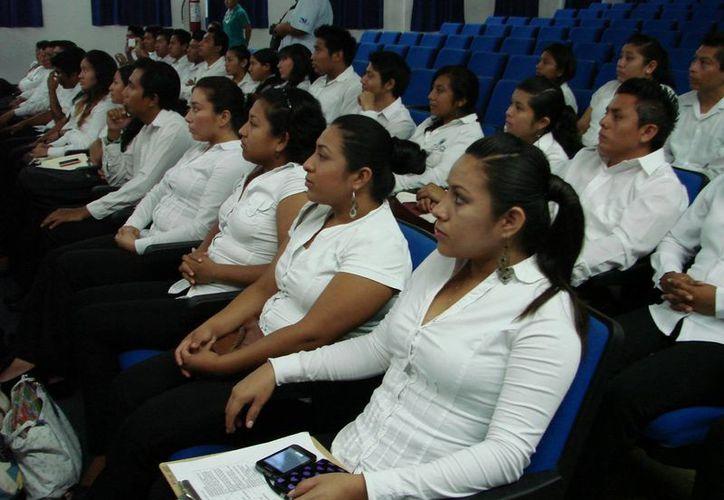 Alumnos del Instituto Tecnológico de Carrillo Puerto contarán con la participación de 12 empresas en el proyecto ecoturístico. (Redacción/SIPSE)