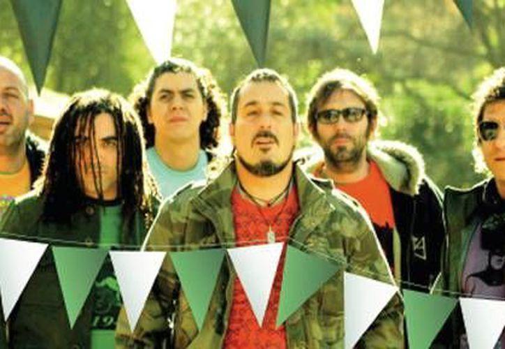 El quinteto argentino se encuentra en su gira 2013 por México promocionando su nuevo disco. (Foto de Contexto/Internet)