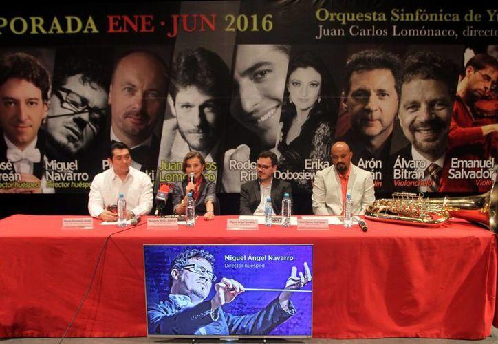 Los organizadores dieron los pormenores del sexto programa que se llevará a cabo el viernes 11 a las 21 horas y el domingo 13 a las 12 horas. (Amílcar Rodríguez)
