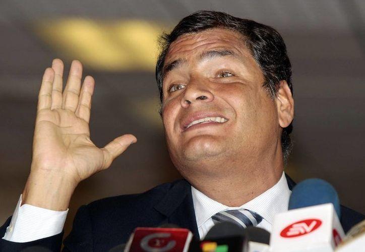 El Presidente Rafael Correa destacó el logro científico de la nación andina. (Archivo/EFE)