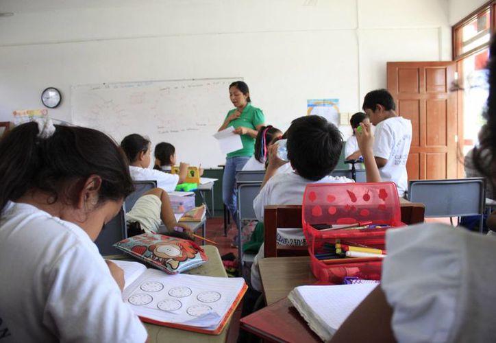 El gobierno federal asignó un presupuesto de ocho mil 600 millones de pesos para la Educación. (Archivo/SIPSE)