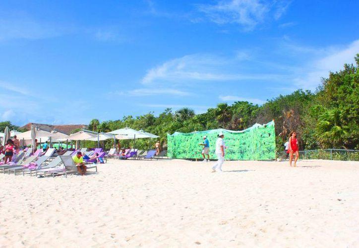 El hotel Paradisus deberá pagar una multa de más de 4 millones de pesos por ampliar su playa ilegalmente. (Archivo/SIPSE)