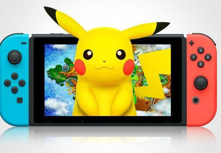 Pokémon para Nintendo Switch podría llegar en 2018. (Computer hoy).