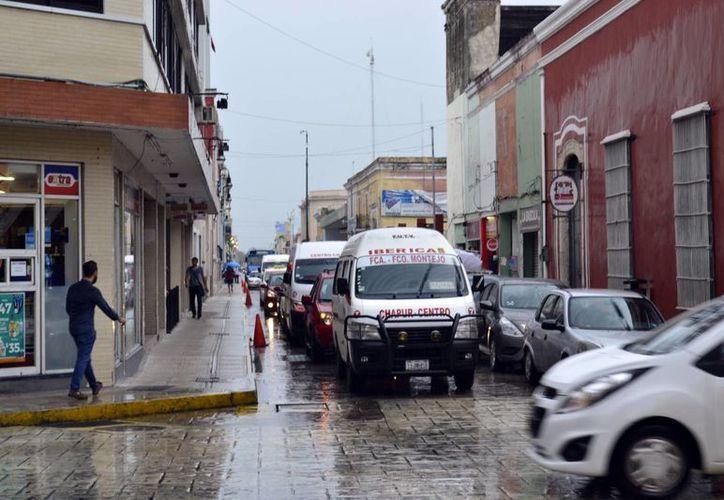 Además de las precipitaciones, se espera actividad eléctrica con rachas de viento fuerte para varias zonas de Yucatán. (Milenio Novedades)