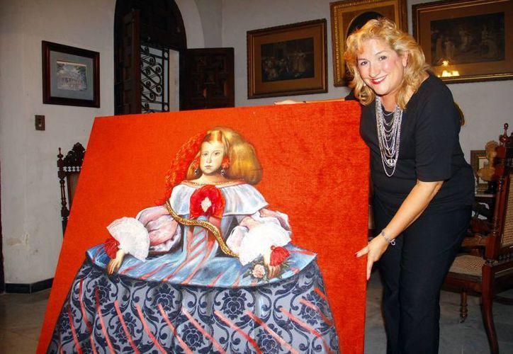 Malena representó a México en Viena durante las fiestas patronales de la Crown Hope. (Milenio Novedades)