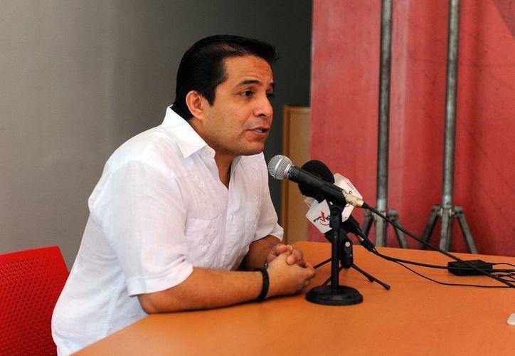 Ancona Salazar, titular de Sefotur, indicó que se pretende promover a Yucatán en todo el mundo, apoyado en los medios de comunicación nacionales e internacionales que acudirán al FICMaya. (Cortesía)