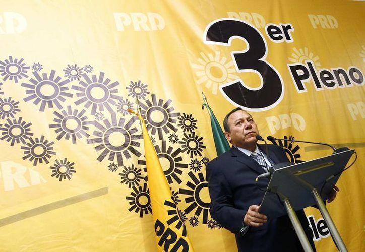 El presidente del Partido de la Revolución Democrática, Jesús Zambrano. (Archivo/Notimex)
