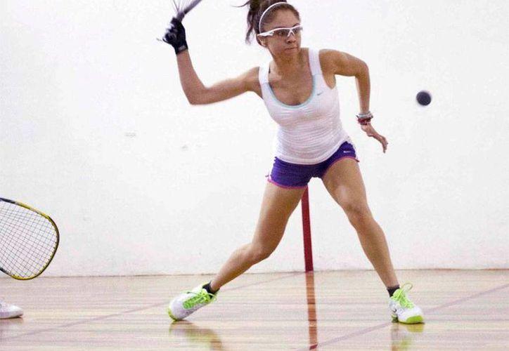 La racquetbolista se instaló en los cuartos de final del torneo, tras derrotar a la guatemalteca Gabriela Martínez. (Notimex)