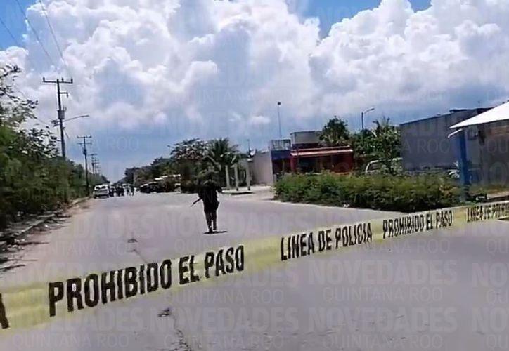 Una persona resultó lesionada. (Rubén Cruz)