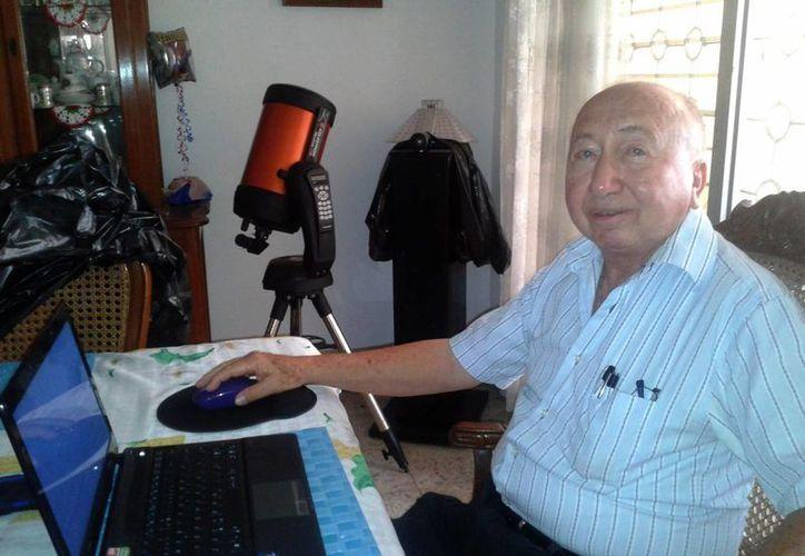 El astrónomo Eddie Salazar Gamboa anticipó que el 27 de septiembre venidero habrá eclipse lunar y Superluna. (Notimex)