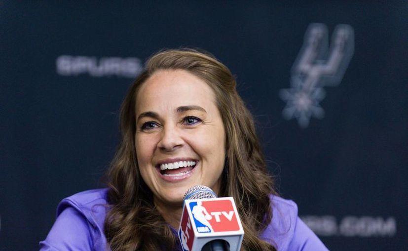 Becky Hammon está considerada como una de las 15 mejores jugadoras de la historia de la WNBA. (AP)