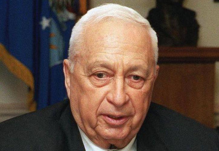Ariel Sharon sufrió un derrame cerebral en 2006. (starmedia.com)