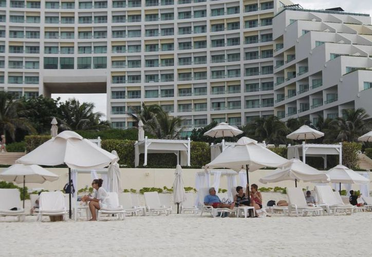 Los turistas no están asegurados durante su estancia en los hoteles. (Jesús Tijerina/SIPSE)