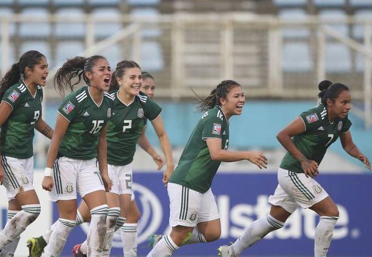 La Femenil Sub-20 venció a Estados Unidos para coronarse en el Premundial de Trinidad y Tobago 2018. (Foto: Univision)