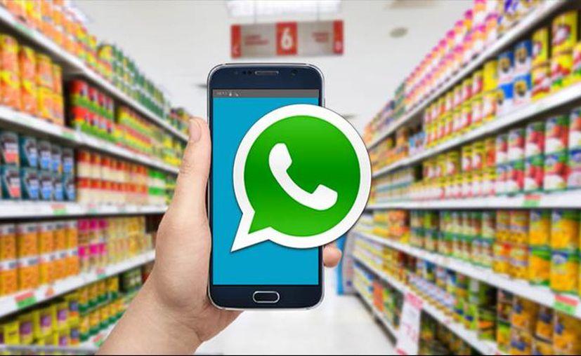 WhatsApp también servirá para dar seguimiento a pedidos las 24 horas del día. (Internet)