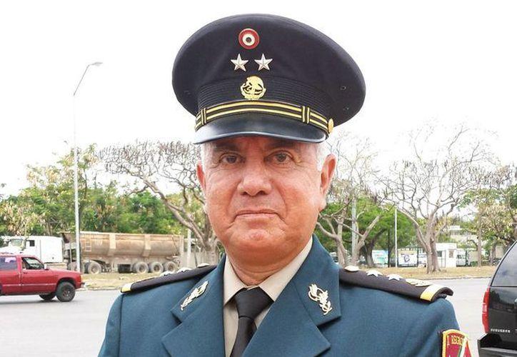 El general de Brigada Diplomado de Estado Mayor Luis Manuel Vélez Fernández de Lara se caracterizó por ser muy accesible con la gente. (SIPSE)