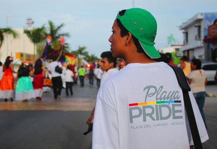 Realizarán la Sexta Semana de Orgullo Gay en Playa del Carmen. (Daniel Pacheco/SIPSE)