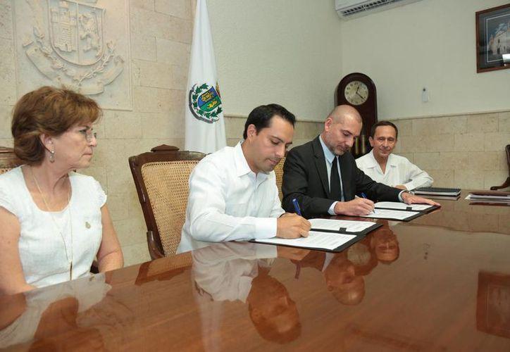 El convenio firmado por el Ayuntamiento y ONU Hábitat avalará proyectos estratégicos que optimicen los recursos y los canalicen a necesidades reales y específicas. (Ayuntamiento de Mérida)