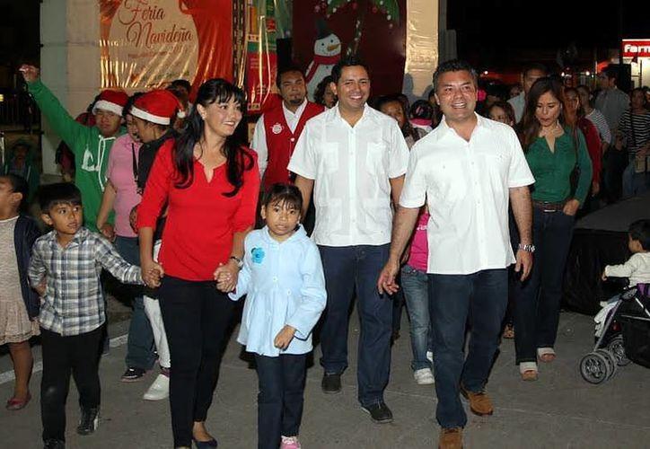 Arrancó la Feria Navideña de Playa del Carmen, estará disponible hasta el 6 de enero. (Redacción/SIPSE)
