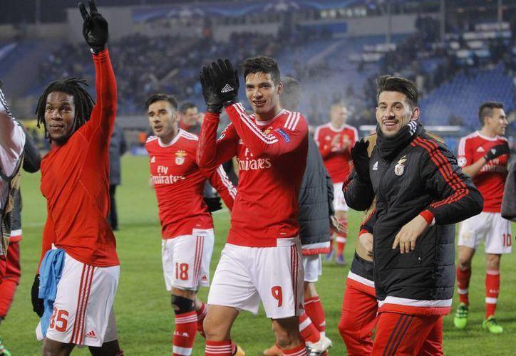 Benfica avanzó por primera vez a Cuartos de Final de la Champions League desde el 2012. (AP)