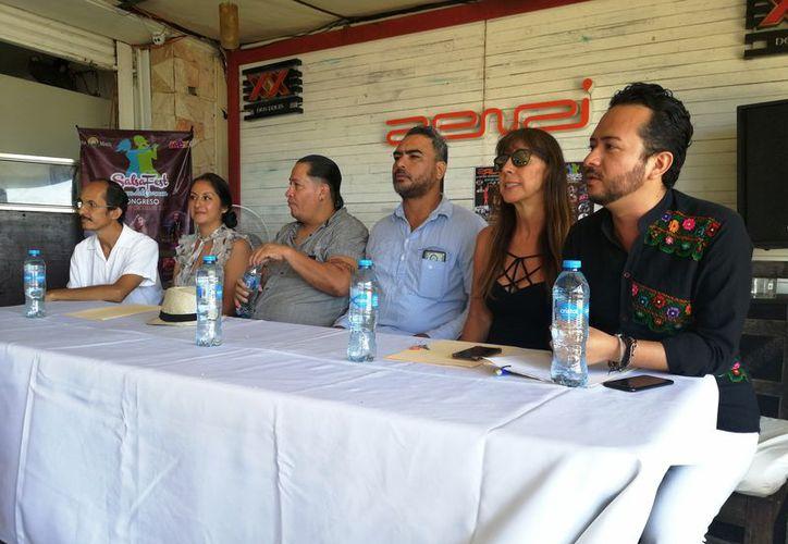 El festival musical fue presentado por los organizadores. (Octavio Martínez/SIPSE)