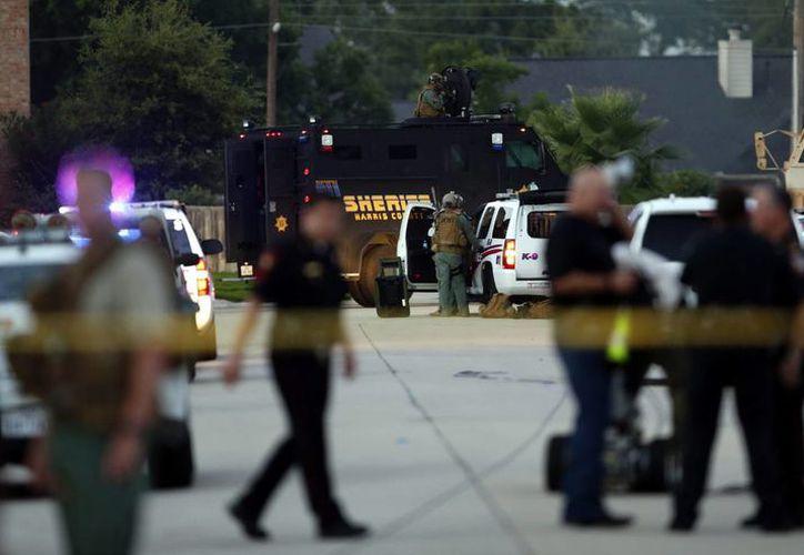 Uno de los policías muertos en un tiroteo en Palm Springs era una agente que acababa de ser mamá. (EFE)
