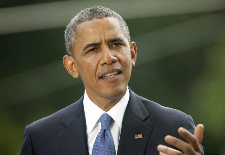 Obama ha apoyado la legislación para prohibir explícitamente la discriminación por orientación sexual e identidad de género. (AP)