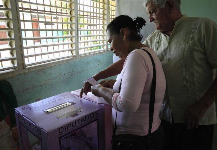 Los ciudadanos podrán ejercer su derecho al voto el próximo 7 de junio. (Harold Alcocoer/SIPSE)