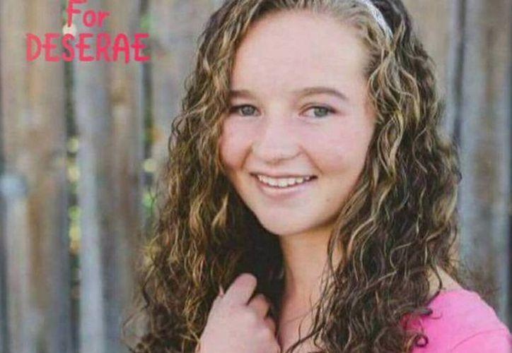 Deserae Turner apareció la semana pasada inconsciente en las afueras del pueblo de Smithfield, luego de que dos adolescentes la balearon para robar. (imagen facilitada por la policía)