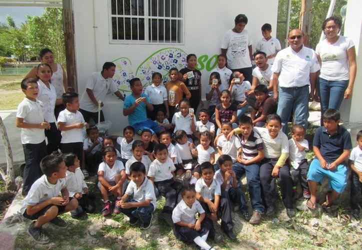Las actividades se efectuaron en la Reserva Estatal Santuario del Manatí Bahía de Chetumal. (Redacción)
