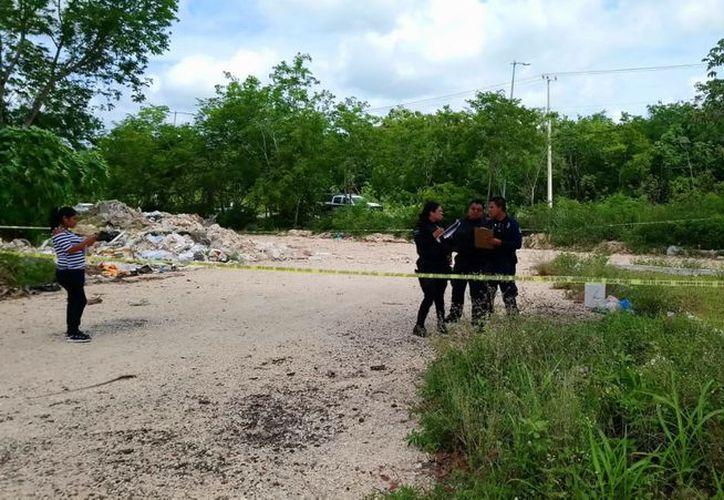 El pasado martes, ingresó al número de emergencia 911, el reporte del hallazgo de un cuerpo sin vida a un costado del Arco Vial. (Redacción/SIPSE)
