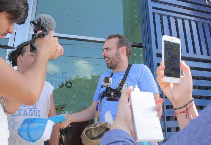 Fue liberado minutos después de ser trasladado al Torito. (Sergio Orozco/SIPSE)