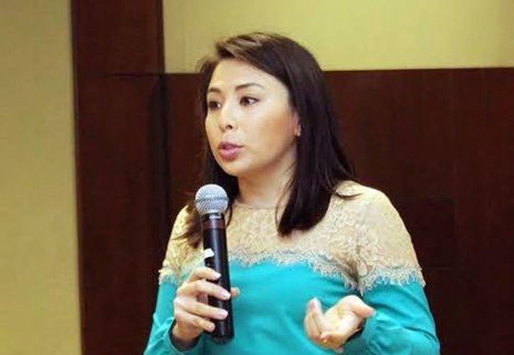 Chrisenedina Sherlin May Kim, maestra en Nutrición Clínica e investigadora de la Universidad Anáhuac Mayab (SIPSE)